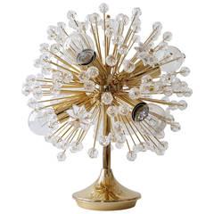 A Beautiful Blowball Sputnik Table Lamp by Emil Stejnar for Nikoll, Vienna