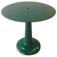 Tolix Round Bistro Table by Xavier Pauchard, 1950s