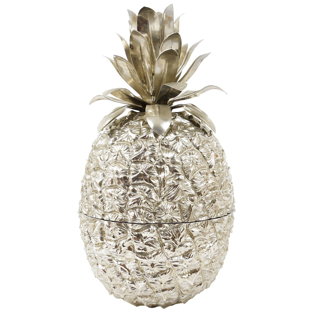 Beautiful Pineapple Ice Bucket in the Style of Mauro Manetti, Italy, 1970s