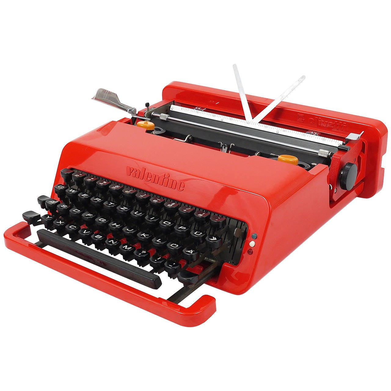 1960s Furniture Valentine Typewriter By Ettore Sottsass And Perry A King