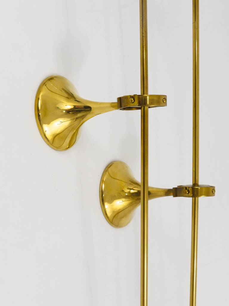 Wall Candle Lamps : Freddie Andersen Danish Oil Lamp Candle Brass Sconces Wall Lamps, 1970s at 1stdibs