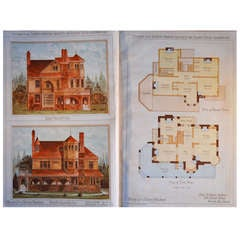 Collection of 19th Century Period Architectural Chromolithographs