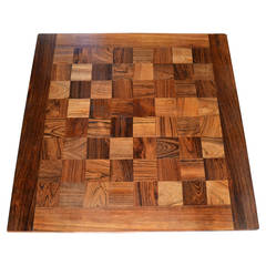 "Design Side / CoffeeTable Poul Cadovius ""Chess Boogie Woogie"""
