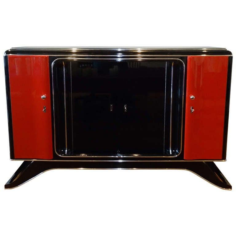 1920s art deco highboard art de tv brussels for sale at. Black Bedroom Furniture Sets. Home Design Ideas