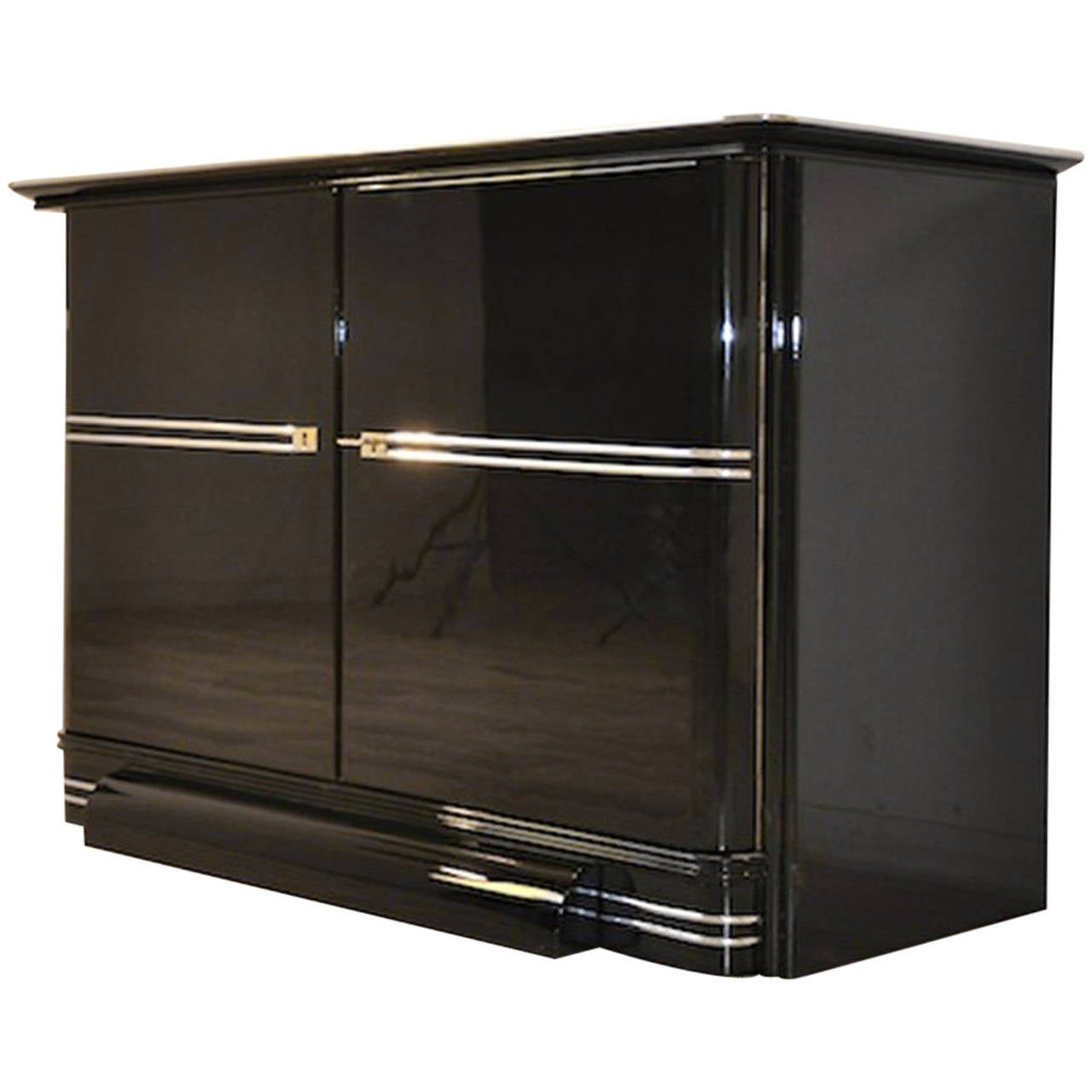 belgian art deco commode at 1stdibs. Black Bedroom Furniture Sets. Home Design Ideas