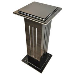 Column Lamp in Art Deco Style