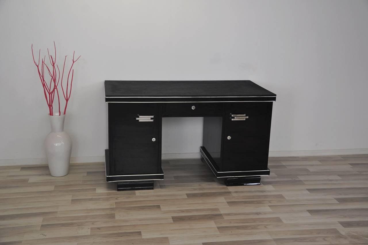 Belgische Art Deco Schreibtisch 2