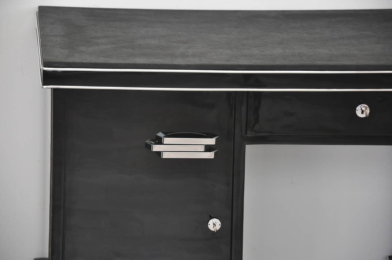 Belgische Art Deco Schreibtisch 3