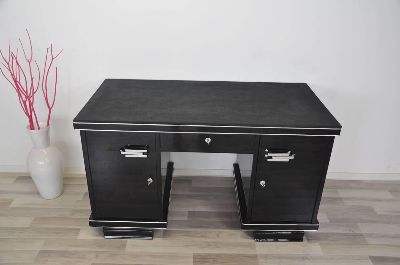Belgische Art Deco Schreibtisch 8