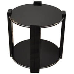 Art Deco Side Table Classic Design