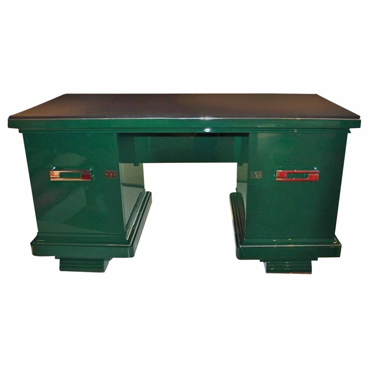 Amboyna Art Deco Table from France For Sale at 1stdibs