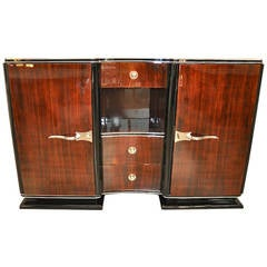 Art Deco Palisander Wood Sideboard