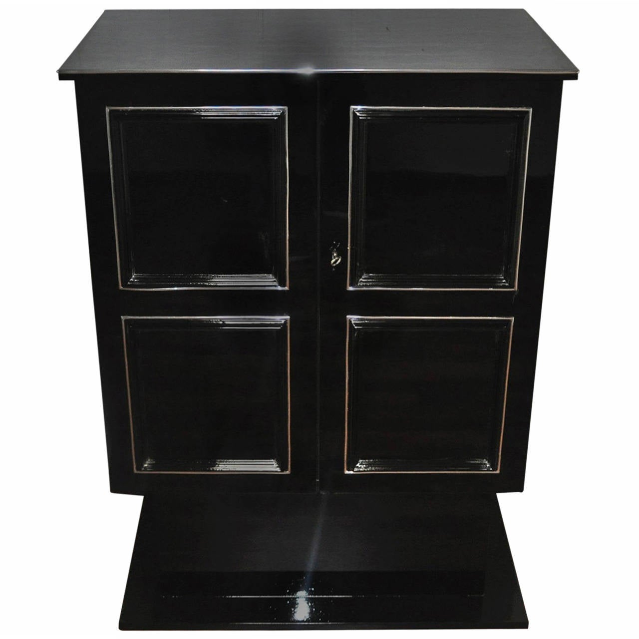 Art Deco Dry Bar Cabinet For Sale At 1stdibs