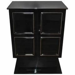 Art Deco Dry Bar / Cabinet
