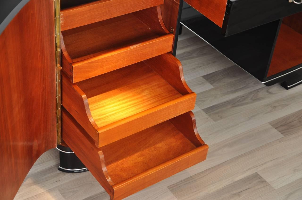 Piano lacquer art deco desk for sale at 1stdibs for Piani art deco