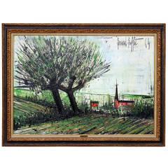 """Environ des Ponts Neufs"" Painting by Bernard Buffet"