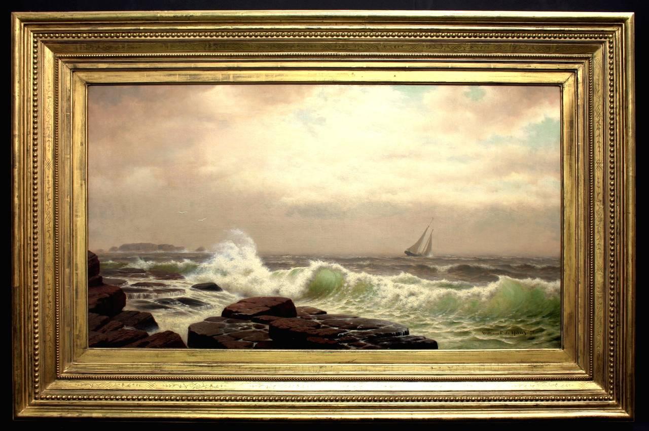 sailboat in the atlantic