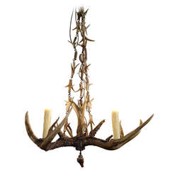 Antler Chandelier from Germany, 1930