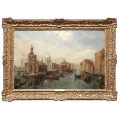 Venetian Canal by British Artist Jane Vivian