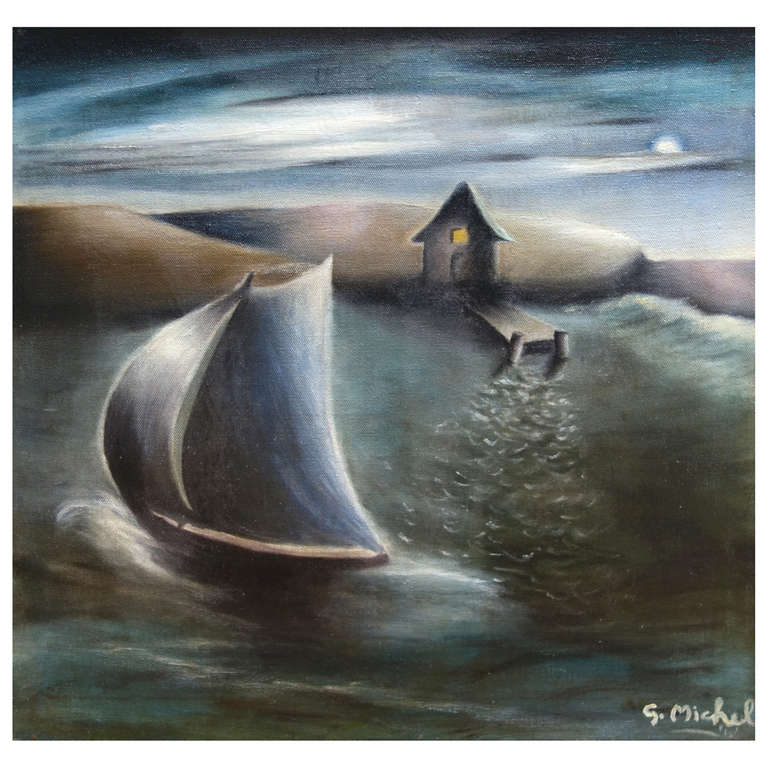 """""""Sailing in a Dream"""" by Sally Michel"""