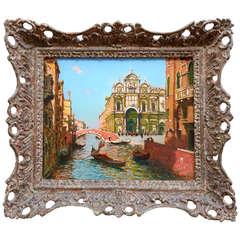 """""""Canal in Venice"""" by Gaston Boucart"""