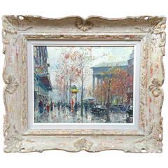 """Paris Street Scene"" by Jean Salabet"