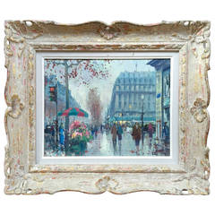 """The Flower Seller, Paris"" by Jean Salabet"