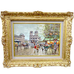 """Notre Dame Paris"" by Antoine Blanchard"