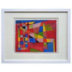 """""""Untitled Geometric Abstract"""" Painting by Rolph Scarlett"""