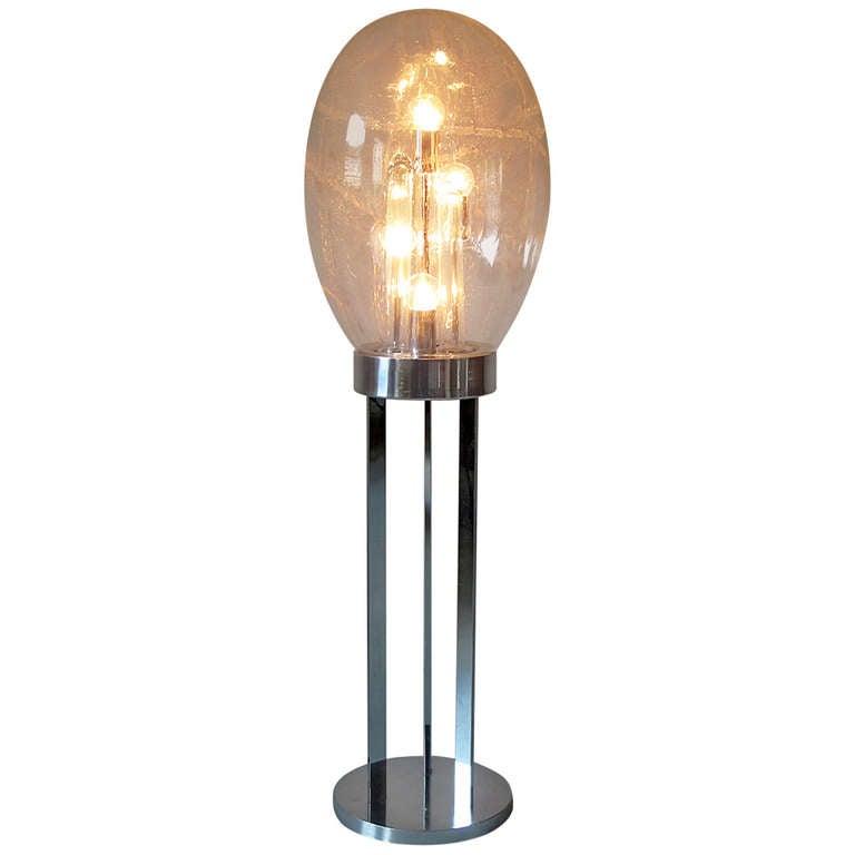 mid century modern 1960 s floor lamp doria at 1stdibs. Black Bedroom Furniture Sets. Home Design Ideas