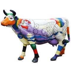 pair of 20th Century Cows by Ludo Huys