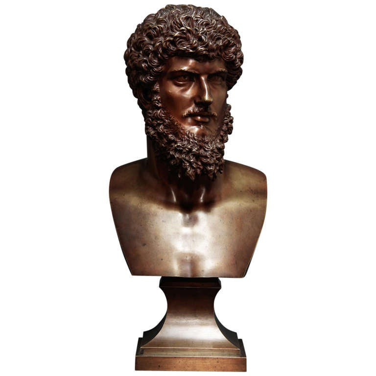 19th Century French Bronze Bust