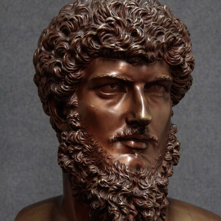 19th Century French Bronze Bust For Sale 3