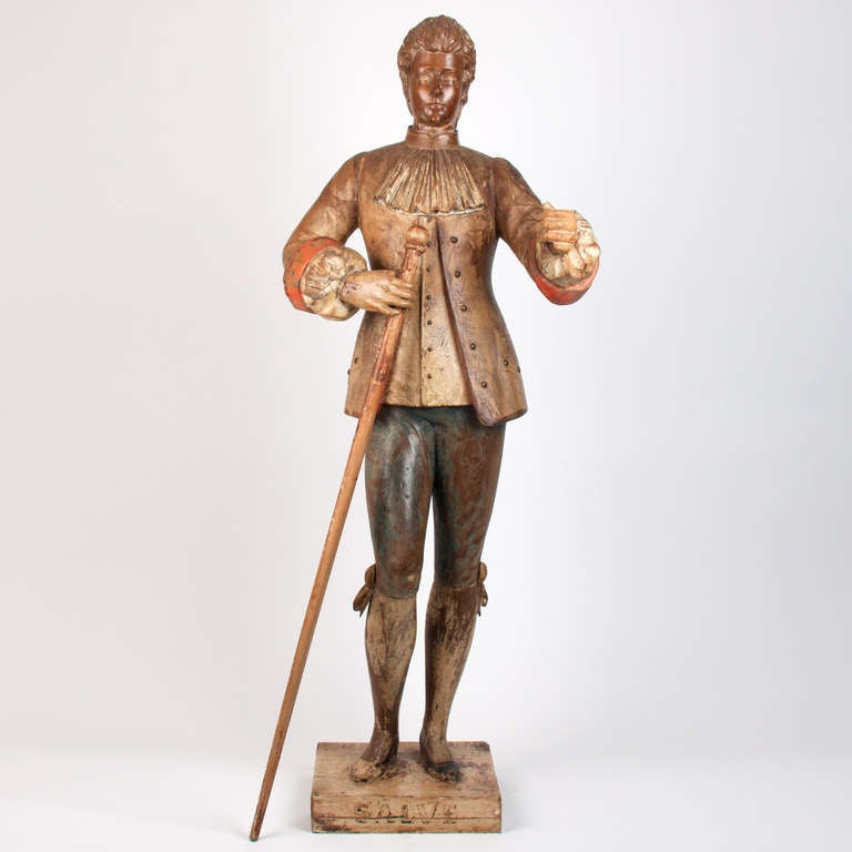 18th Century French Wooden Marionette For Sale 2