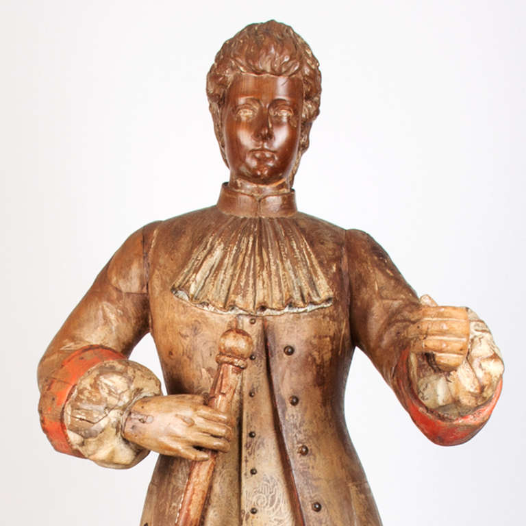 18th Century French Wooden Marionette For Sale 3