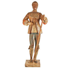 18th Century French Wooden Marionette