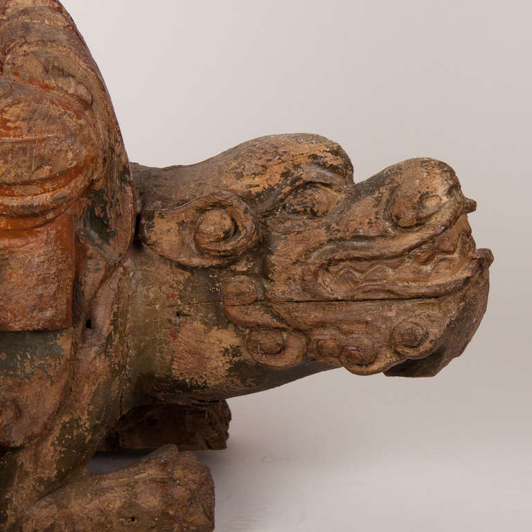 18th Century Wooden Seated Buddha, China For Sale 3