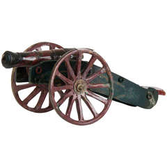 French Cannon Made of Agate, circa 1800