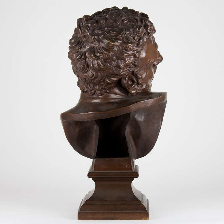 19th Century French Bronze Bust For Sale 1