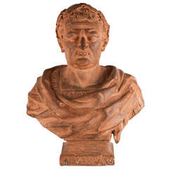 17th Century Italian Terracotta Bust