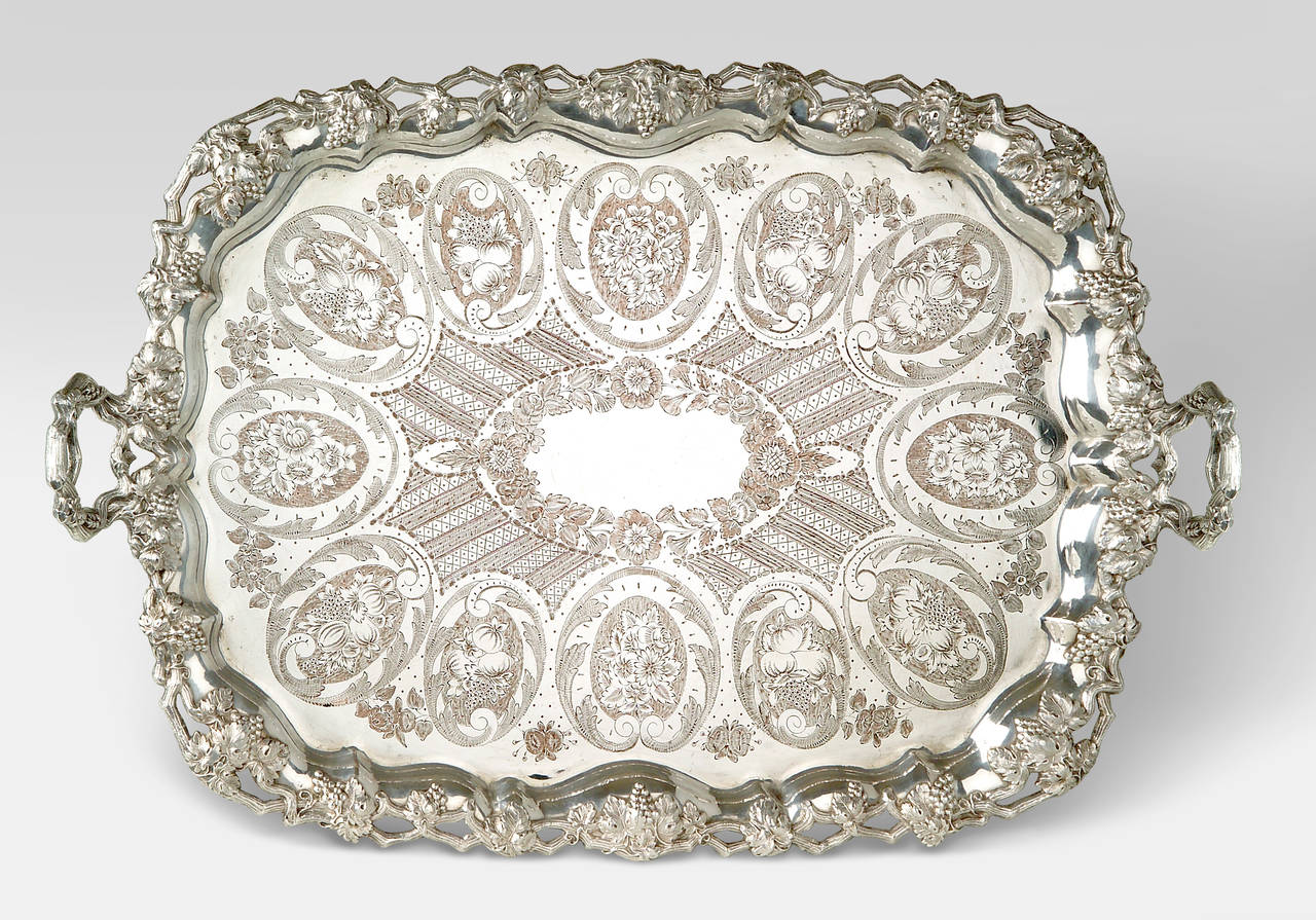 French Silver plate