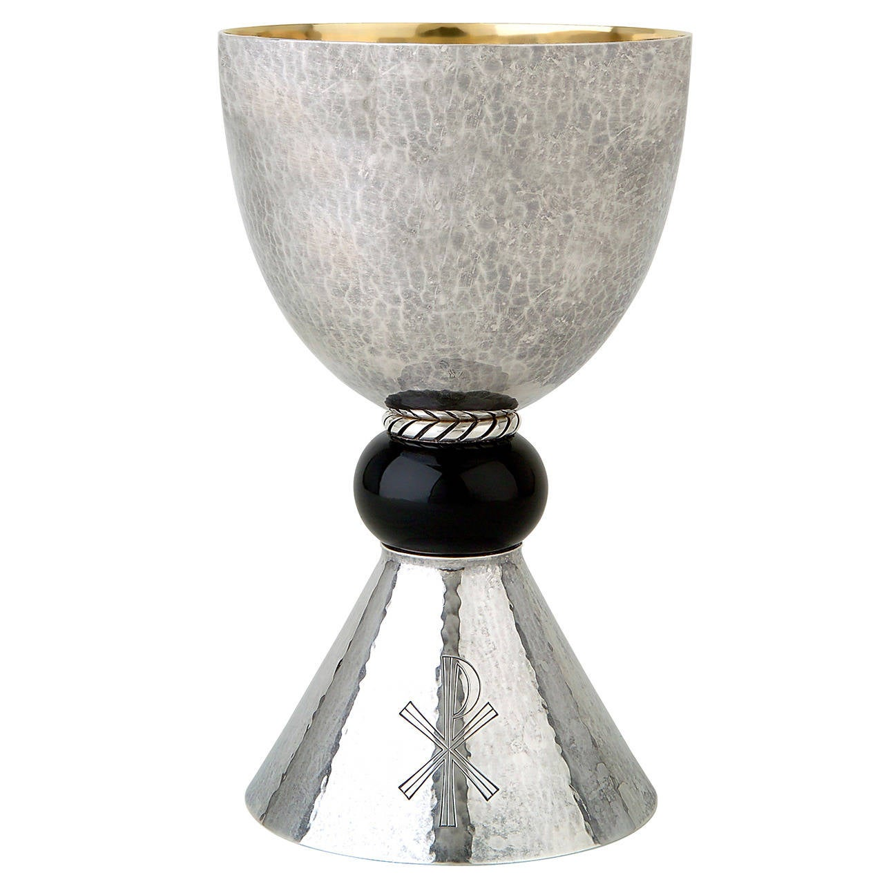 Korean Home Decor A Dutch American Art Deco Sterling Silver Chalice By