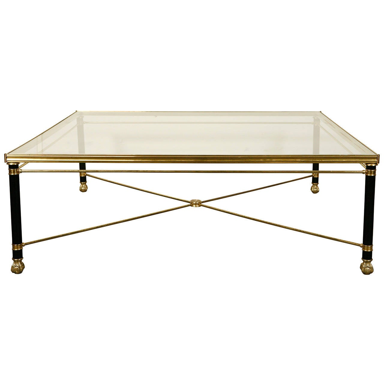 Brass Coffee Table At 1stdibs