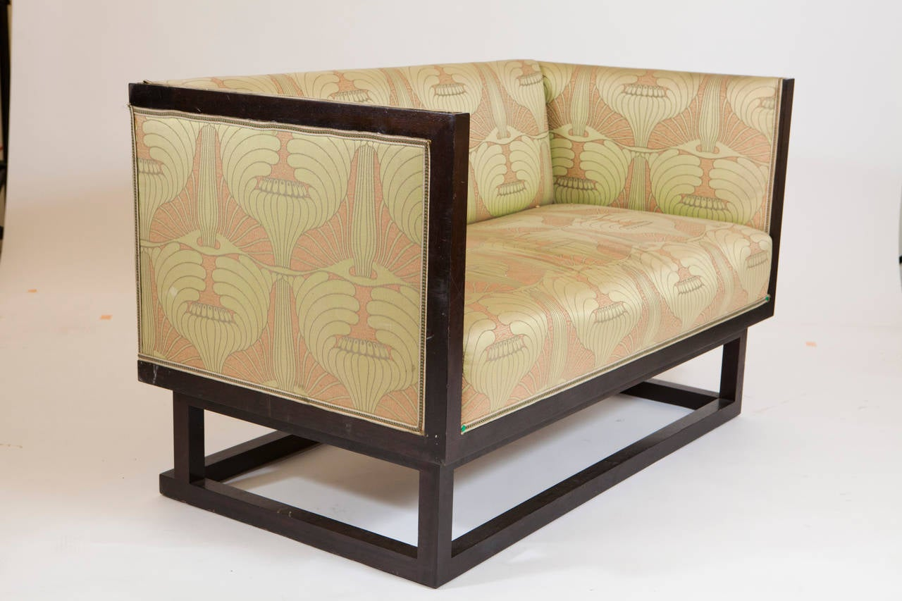 20th Century Art Deco Settee and Bergere  For Sale