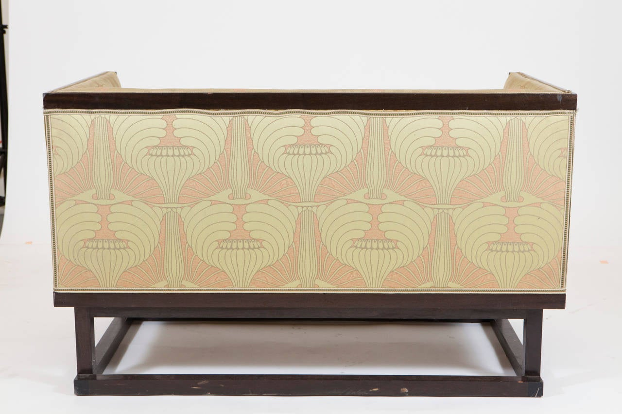 Art Deco Settee and Bergere  For Sale 1