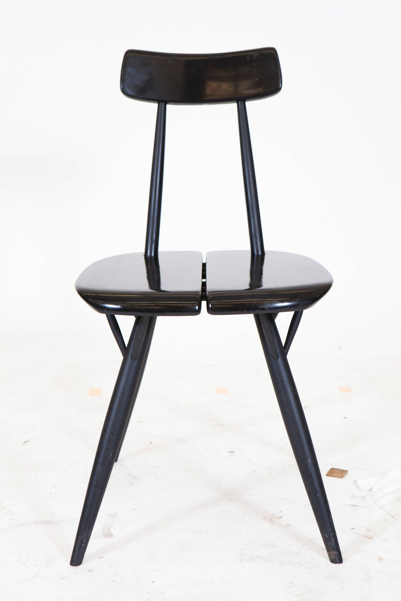 Late 20th Century Pirkka Table and Chairs by Ilmari Taplovaara For Sale
