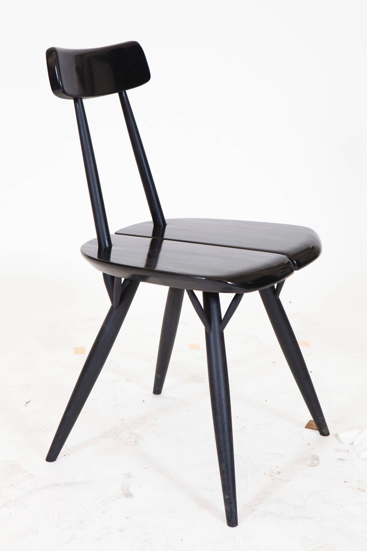Modern Pirkka Table and Chairs by Ilmari Taplovaara For Sale