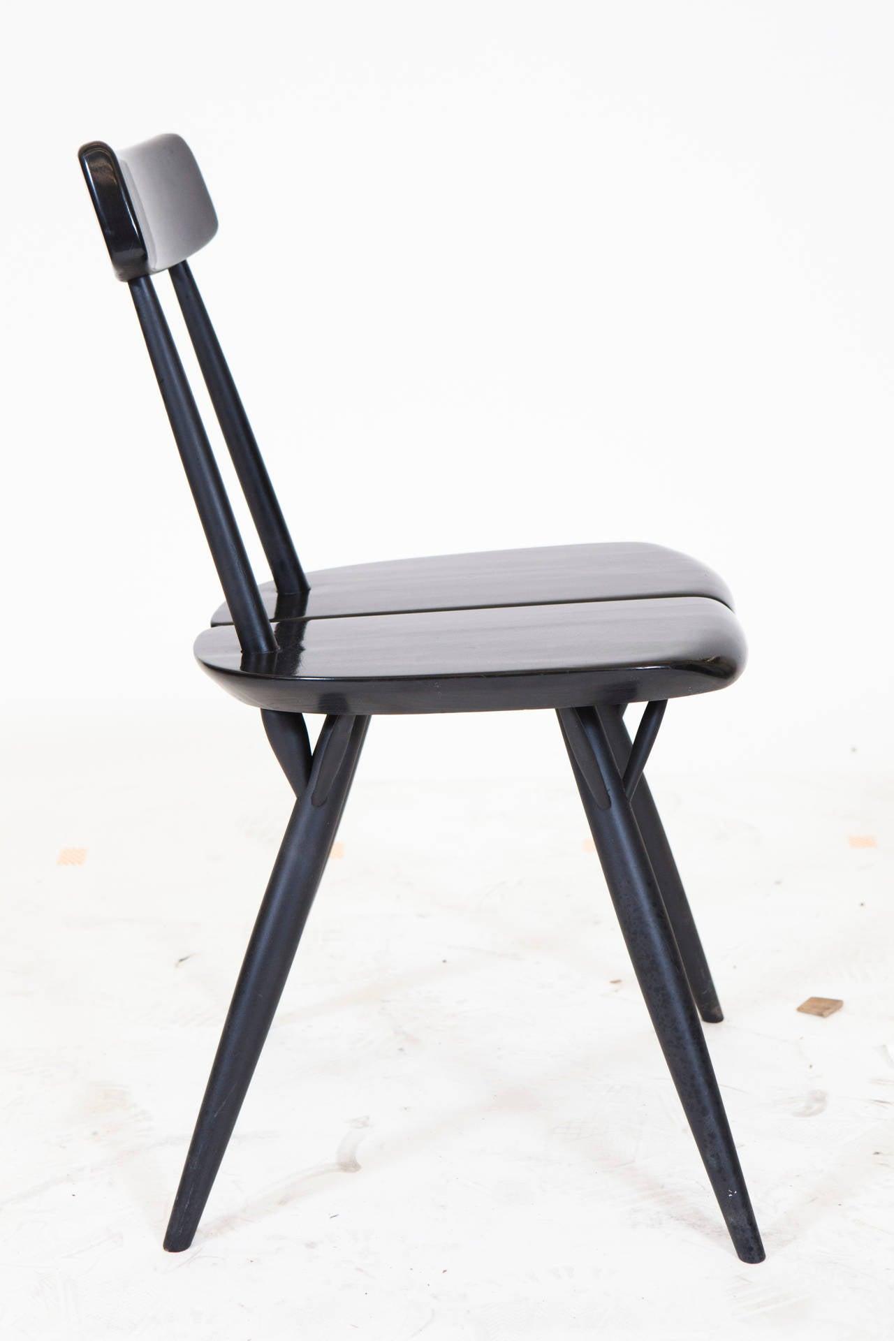 Pirkka Table and Chairs by Ilmari Taplovaara For Sale 1