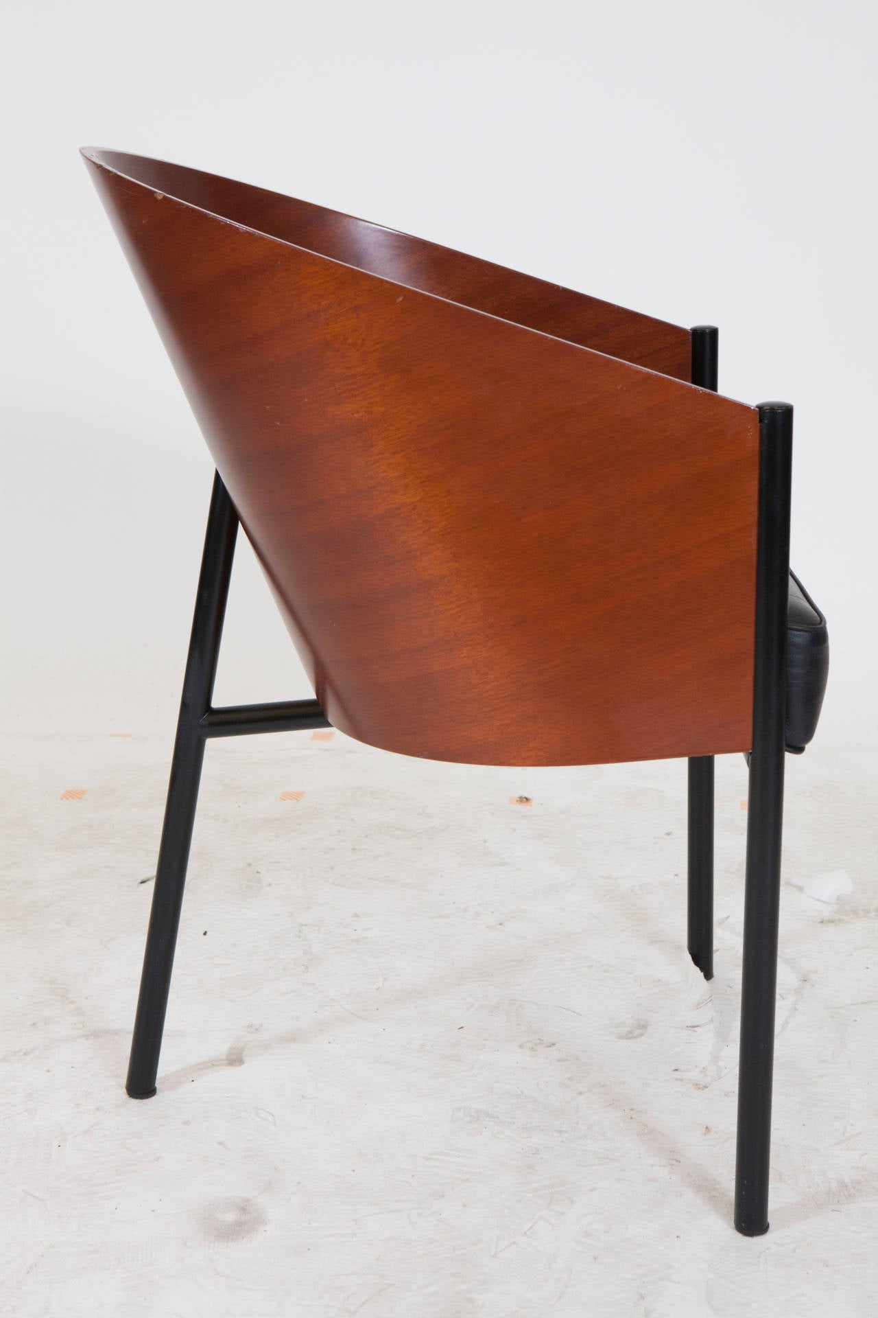 Set of six philippe starck costes chairs at 1stdibs for Philippe starck chair