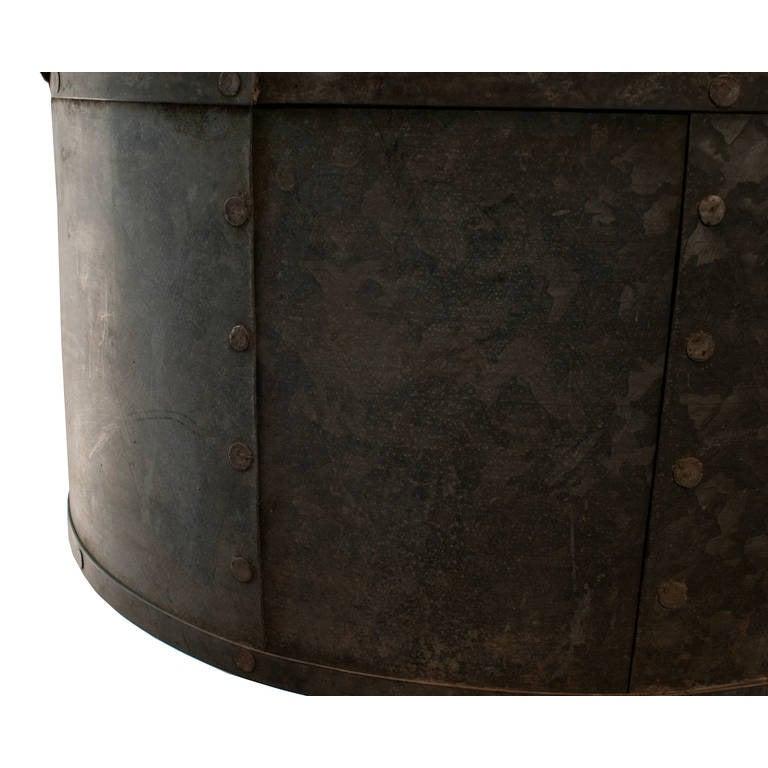 Zinc Round Drum Chandelier 3
